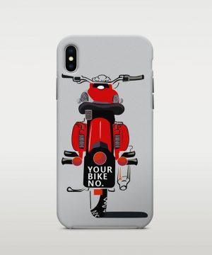 Bike Number Mobile Case
