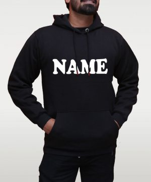 Custom Name Hoodie by BLUE BEAR
