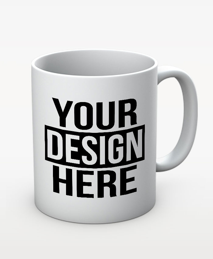 Custom White Mug by BLUE BEAR